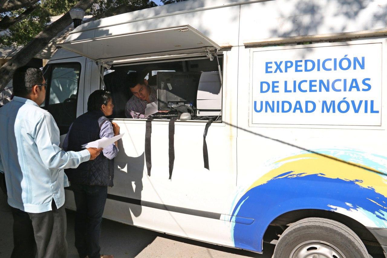 UNIDADES MÓVILES EMITIRÁN LICENCIAS DE CONDUCIR EN TRES MUNICIPIOS